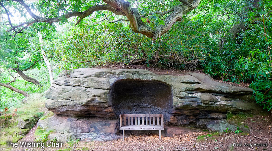 Plumpton Rocks - The Wishing Chair